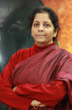 Nirmala Sitharaman Spokesperson 11, Ashoka Road, New Delhi - 110001.